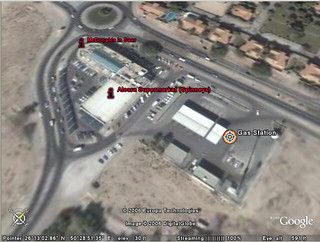 Saar Mall and gas station