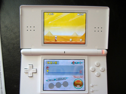 DS Lite Mario | by Glench