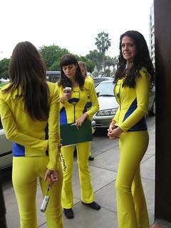 Peruvian Yellow Page Girls   by echo.plexus