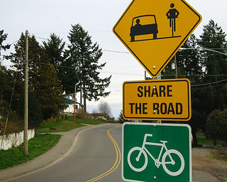 Share the road sign | by Richard Drdul