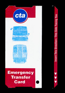 Emergency Transfer Card - Front | by thirdrail