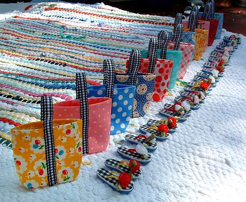 Teensy bags and flip flops | by *jenny b allsorts