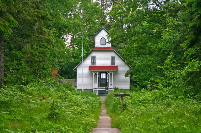 Wisconsin - Ridges Sanctuary - House detail