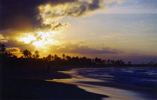Dominican sunset