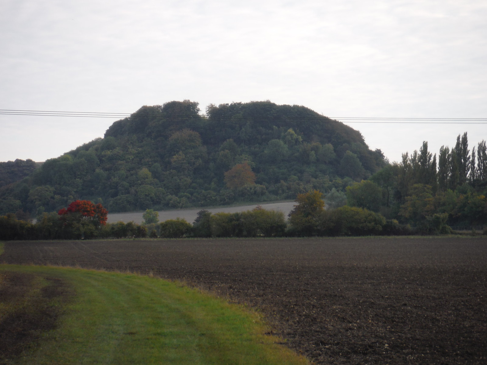 Sharpenhoe Iron Age Hillfort Site SWC Walk 229 Leagrave to Harlington