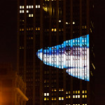 Empire State Building projection