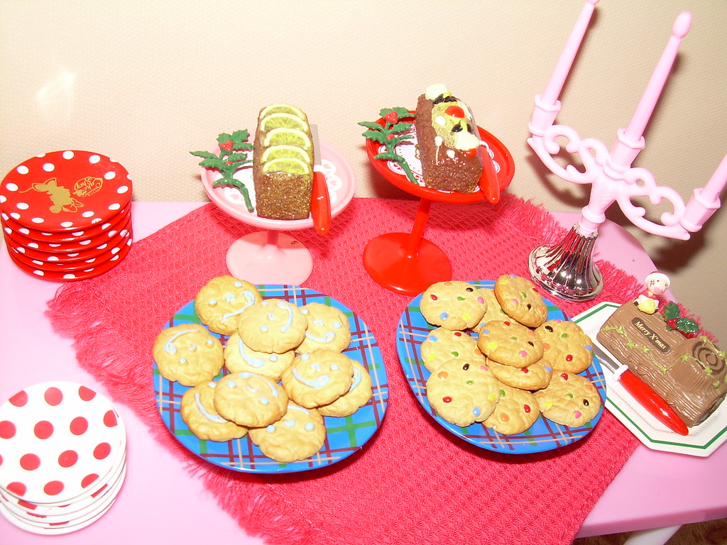 Barbie Christmas Eve 2010 Refreshments Madiera Cake Flickr