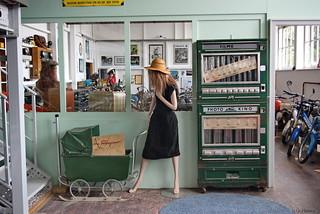 Kinderwagen / Filmautomat