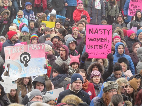Women's March on Washington - Edmonton Solidarity Event | by livingsanctuary
