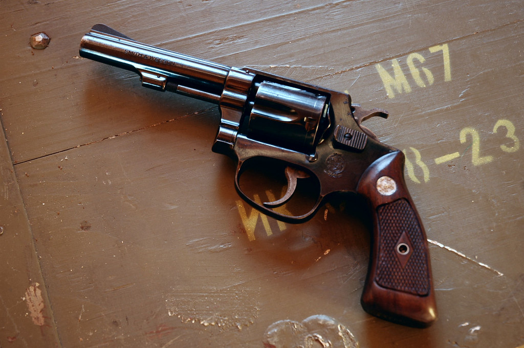 Smith & Wesson 33-1 Early J-Frame 1959  38 S&W | 'Clashy