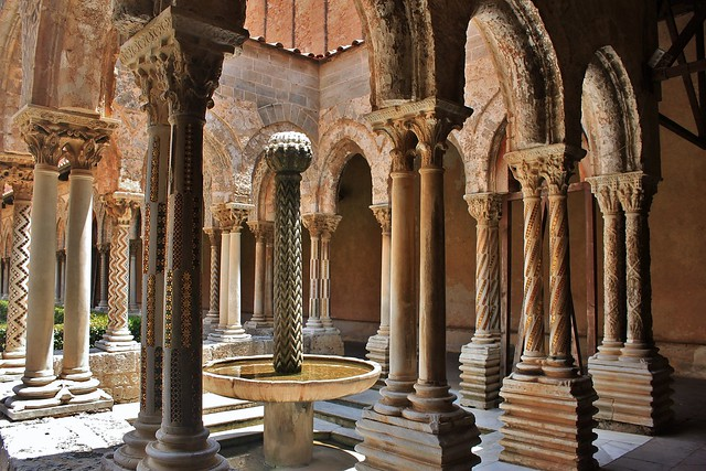 Monreale Cathedral (cloister)
