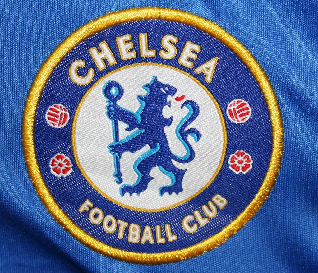 90edb8b6524 ... Chelsea Football Club Patch on Counterfeit T-Shirt | by CBP Photography