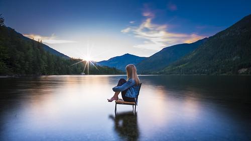 Sunset & Serenity | by Lyndsay Esson