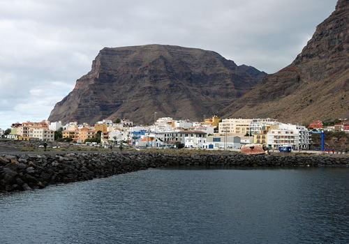 Gomera - Valle Gran Rey - Vueltas - Hafen