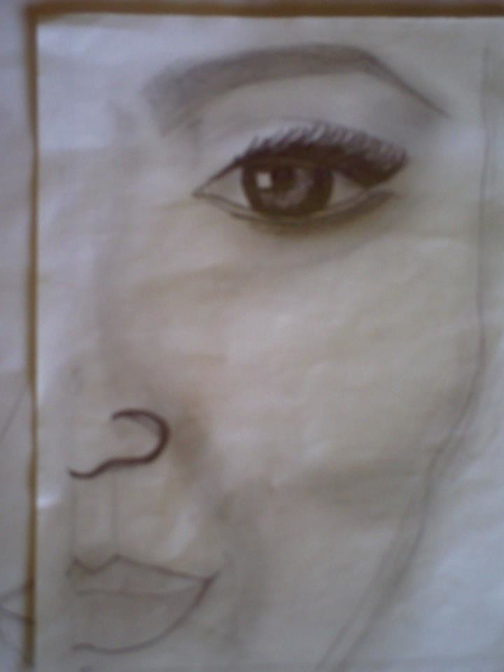 Desenho Com Lapis 6b Thais Goncalves Flickr