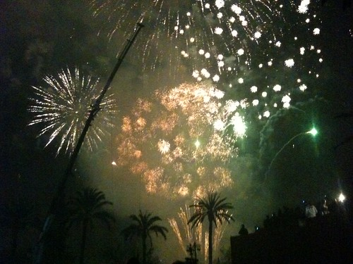 Kevin Killmon blog - Fallas Fireworks
