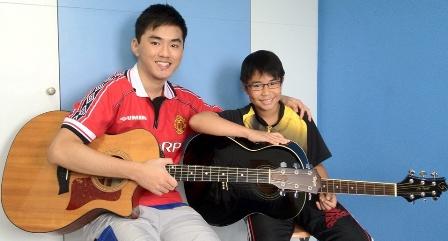 Guitar lessons Singapore Marcus