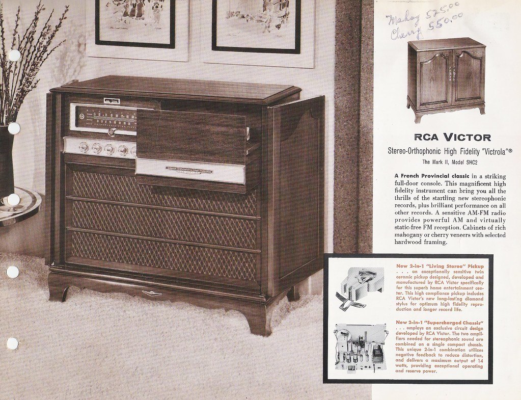 RCA VICTOR Radio , Victrola Stereo and Phonograph Dealer S… | Flickr
