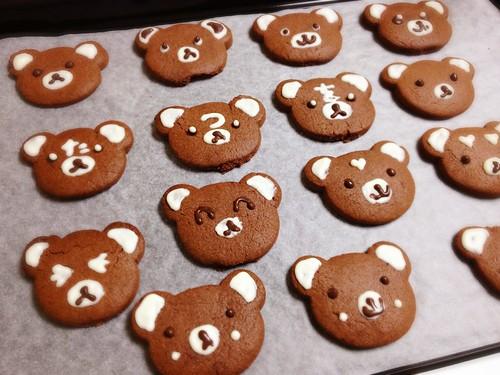 くまちゃんクッキー