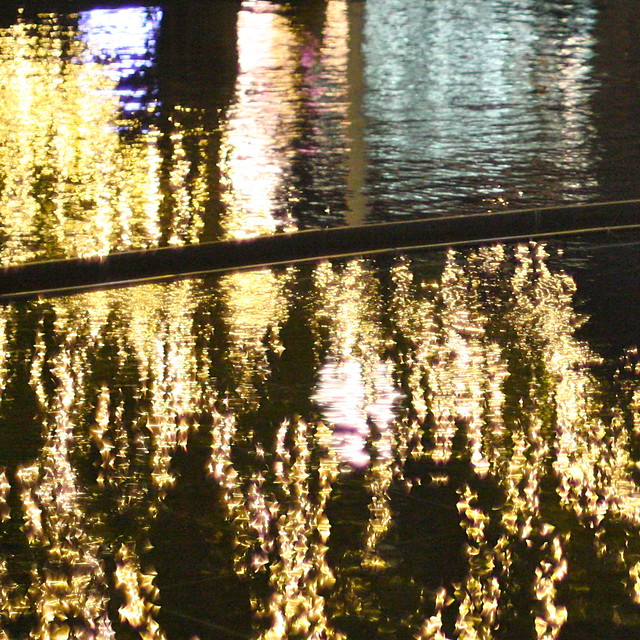 Water reflections in Roppongi