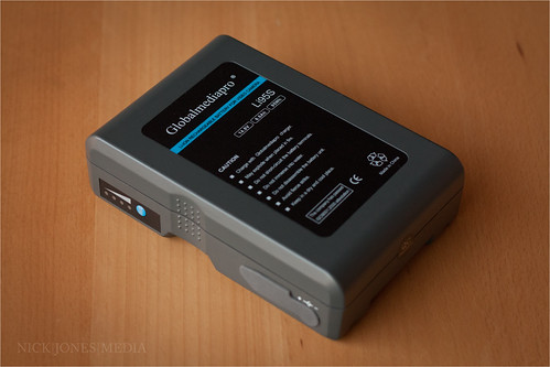GlobalMediaPro Li95S Battery