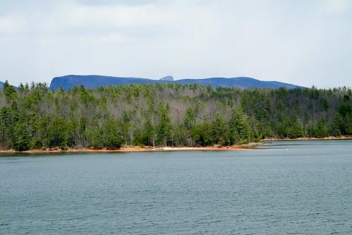 park cliff mountain lake rock table james state sandy north carolina overlook catawba shortoff