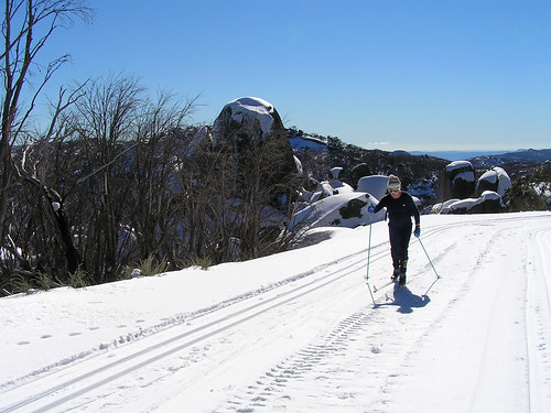 Cross country skiiing, Mt Buffalo National Park | by Australian Alps