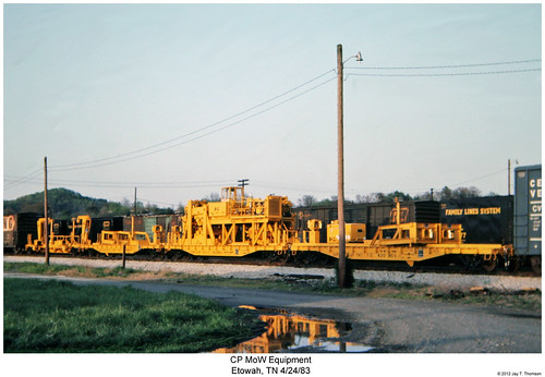 railroad train tennessee railway trains mow traincar canadianpacific cp etowah mofw maintenanceofway