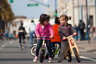 18241 Freedom From Training Wheels at Sunday Streets - Wanna race? | by geekstinkbreath
