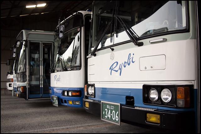 Ushimado bus garage
