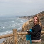 Emily at Torrey Pines State Natural Reserve