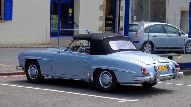 MERCEDES 190SL 1956