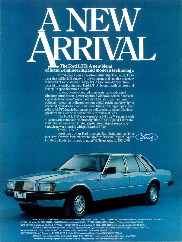 1982 Ford LTD (UK) 1