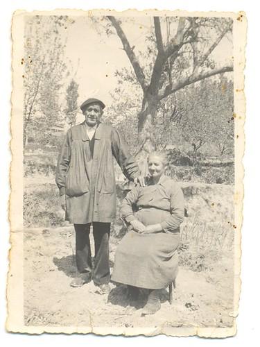 Fausto Gallego Del Río y Pantaleona García Laorden en El Cerrado