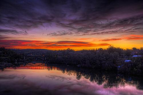 bridge sunrise rainbow hdr folsomca lakenatomas 20120310 pjm1 pedromarenco