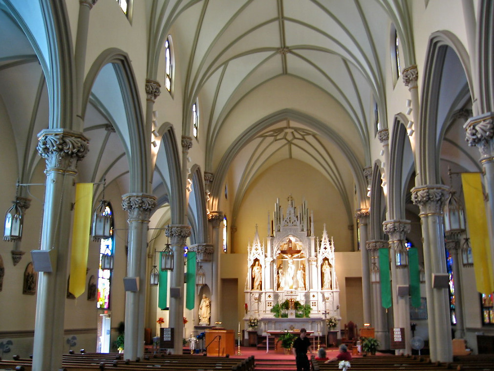 St Mary Of The Mount >> Interior St Mary Of The Mount Church Pittsburgh Pennsy Flickr