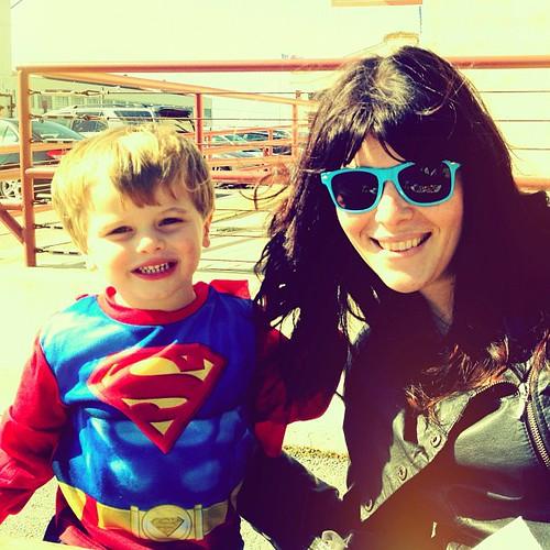 me and superman   by sarahwulfeck