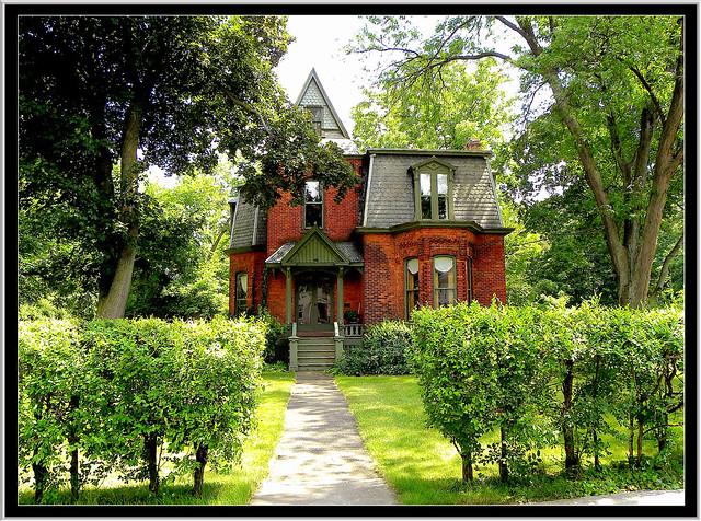 Barlow, William V. N., House: Albion, New York ~ Historic