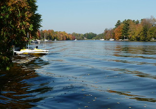 Boats on the Rideau River