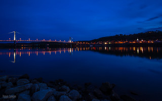 William H Harsha Bridge and Downtown Maysville, KY | by dustin80lawson