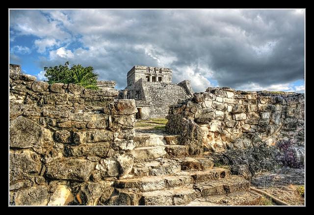 Tulum MEX - Castillo 04