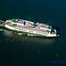 Reflecting MV Chelan From the Air by AvgeekJoe