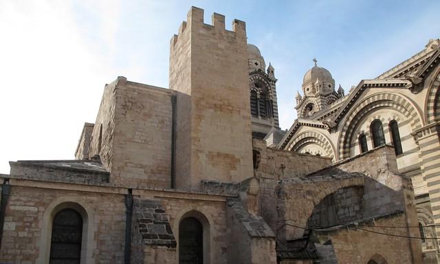 """Ancienne cathédrale la """"Vieille Major"""""""