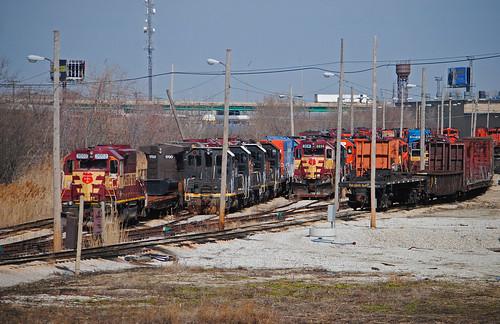 railroad cn ic illinois trains wc homewood deadline locomotives retiredlocomotives