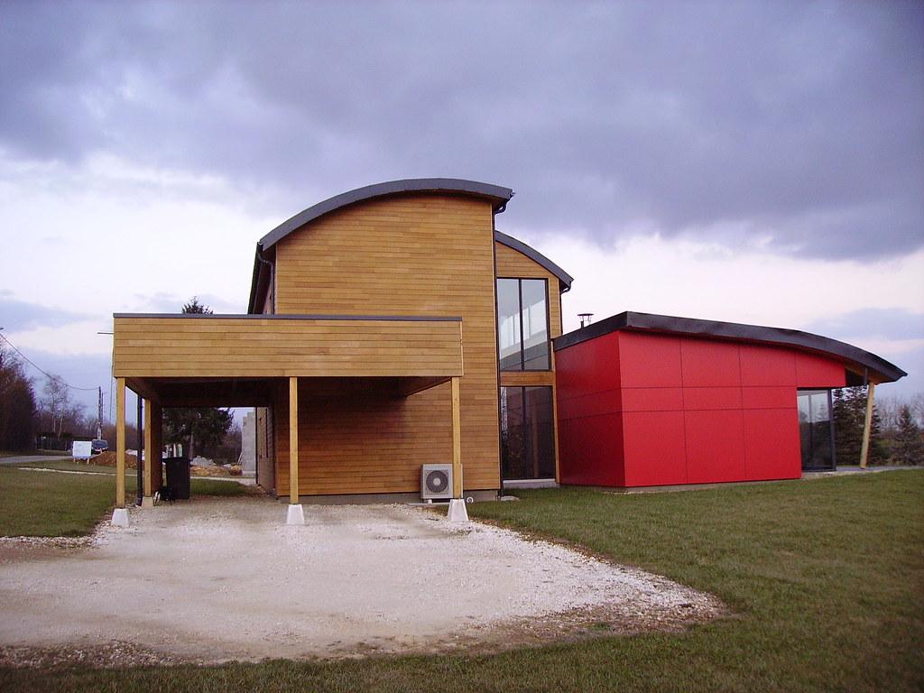 Image De Maison Moderne maison moderne en bois | nièvre. | jpc24m | flickr