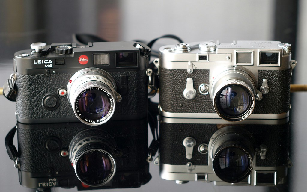 Leica M6 and M3