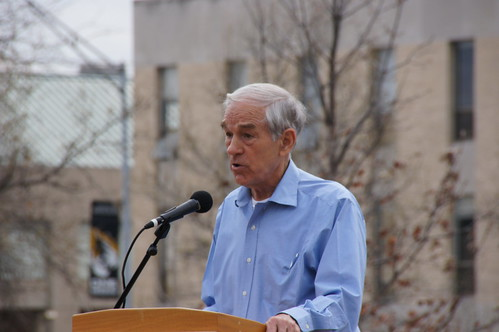 Ron Paul shared his views | by KOMUnews