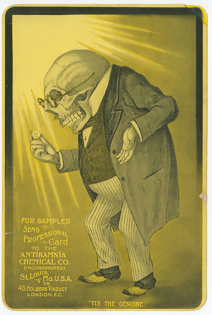 'Tis the genuine [graphic] : For samples send professional card to the Antikamnia Chemical Co. (incorporated) St. Louis, Mo. U.S.A. or 46 Holbron Viaduct London, E.C. c.1900