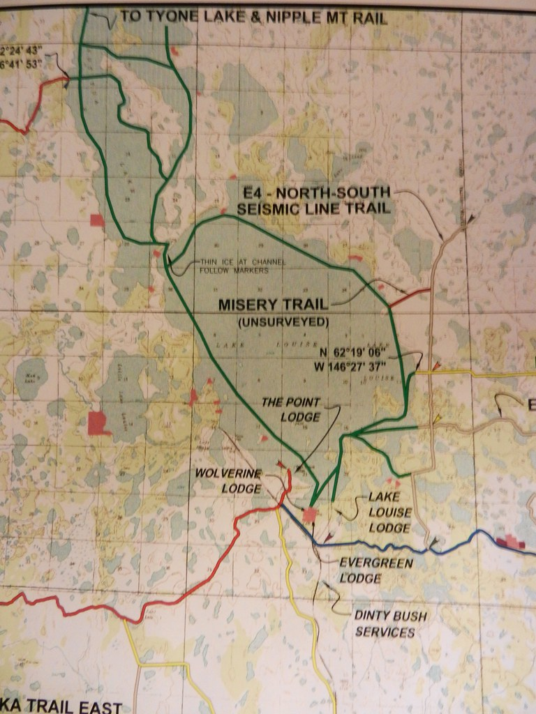 Lake Louise Map | This map shows the trail around Lake Louis ...