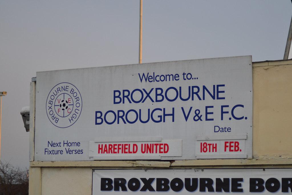 Broxbourne Borough V&E FC 2-3 Harefield United FC (18-2-12)